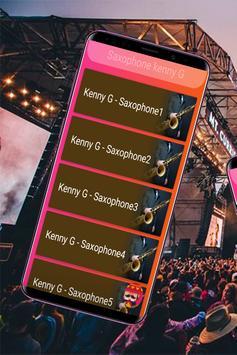 Saxophone kenny G screenshot 1
