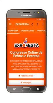 ExpoFesta - Congresso Nacional de Festas e Eventos poster