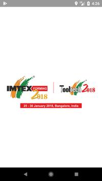 IMTEX Forming 2018 / Tooltech 2018 poster