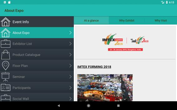 IMTEX Forming 2018 / Tooltech 2018 screenshot 10