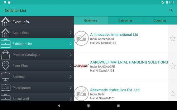 IMTEX Forming 2018 / Tooltech 2018 screenshot 11