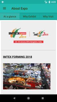 IMTEX Forming 2018 / Tooltech 2018 screenshot 3