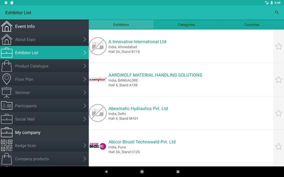 IMTEX Forming 2018 / Tooltech 2018 screenshot 6