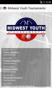 Midwest Youth Tournaments poster
