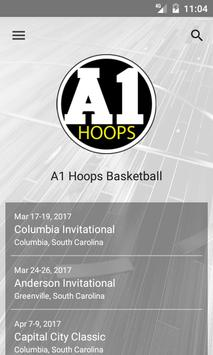 A1 Hoops Basketball poster