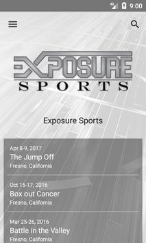 Exposure Sports poster