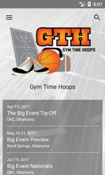 Gym Time Hoops poster