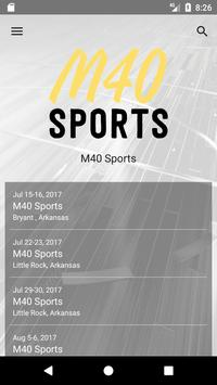 M40 Sports poster