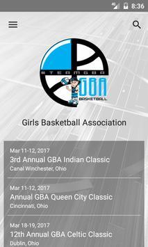 GBA Basketball poster