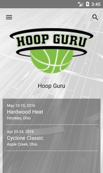 Hoop Guru Events poster