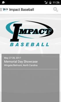Impact Baseball poster