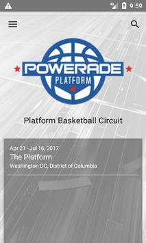 Platform Basketball Circuit poster