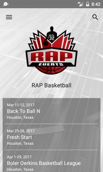 RAP Basketball poster