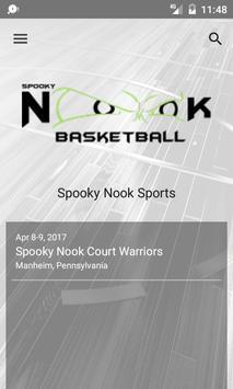 Spooky Nook Basketball poster