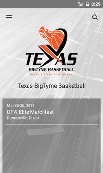 Texas BigTyme Basketball poster