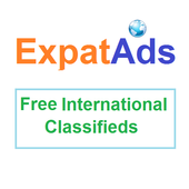 Free International Classifieds Ad App ExpatAds.com icon
