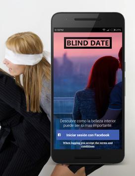 Blind Date - Flirt blindly poster