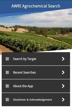 AWRI Agrochemical Search poster