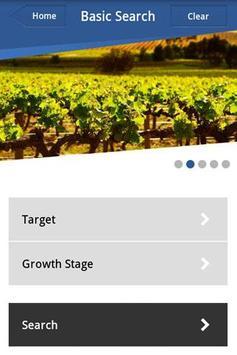 AWRI Agrochemical Search screenshot 1