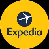 Expedia Hotels, Flights & Car Rental Travel Deals أيقونة
