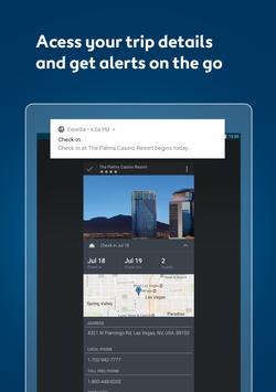 Expedia Hotels, Flights & Car Rental Travel Deals apk تصوير الشاشة