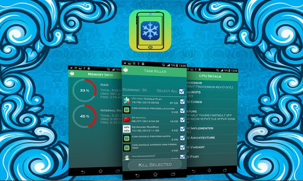 Cool Down Phone For Android apk screenshot