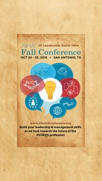 AIHA Fall Conference poster