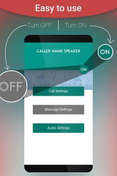 Caller Name Announcer poster