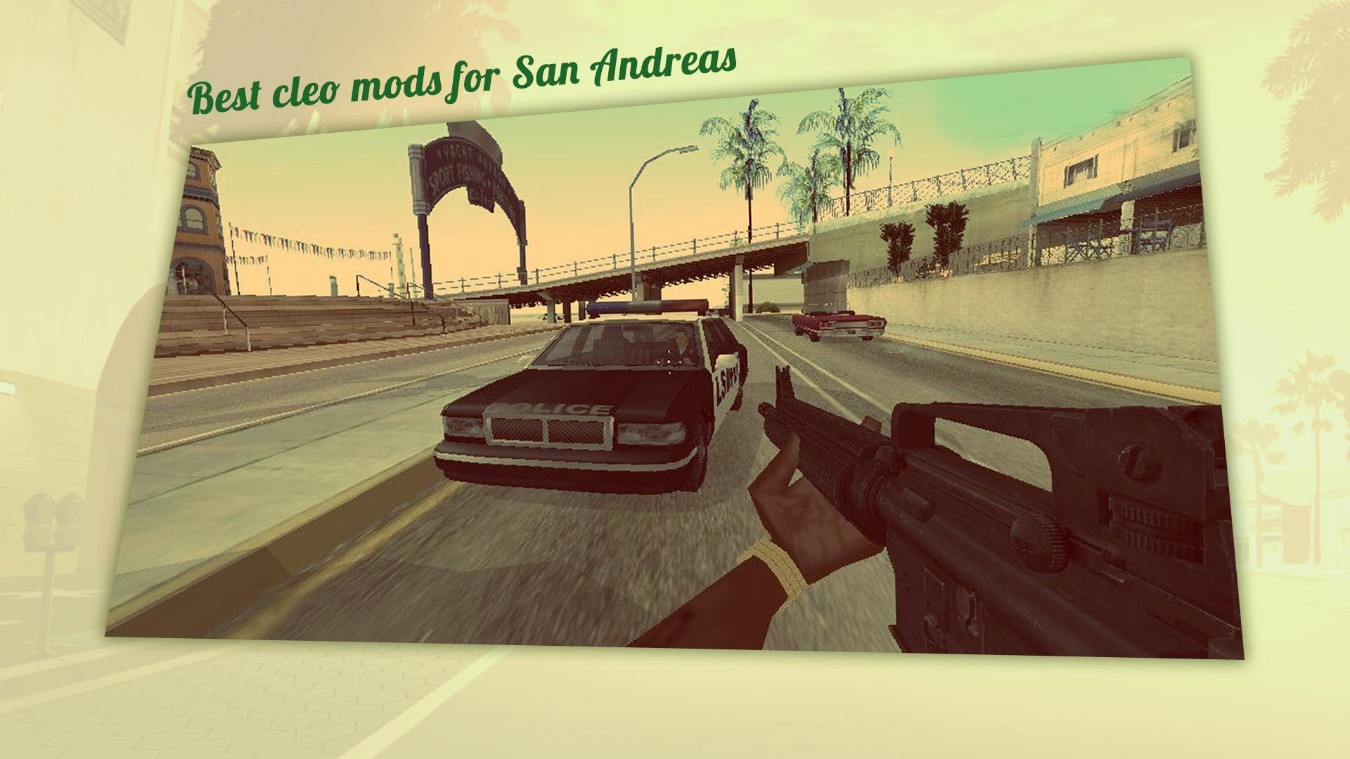 CLEO Mod Collection for GTA SA for Android - APK Download
