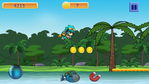 Island Dash Boy: Pirate Escape apk screenshot