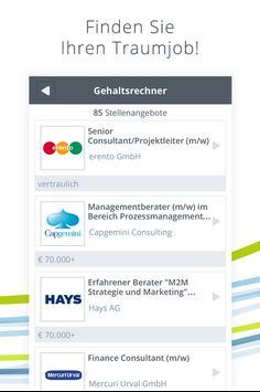Experteer Gehaltsrechner screenshot 3