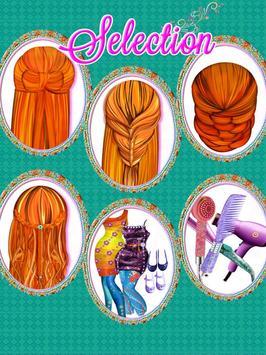 Fashion Doll Hair style Salon screenshot 11