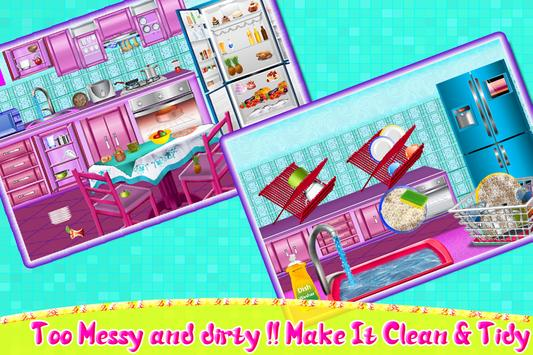 House Room Cleaning Game screenshot 1