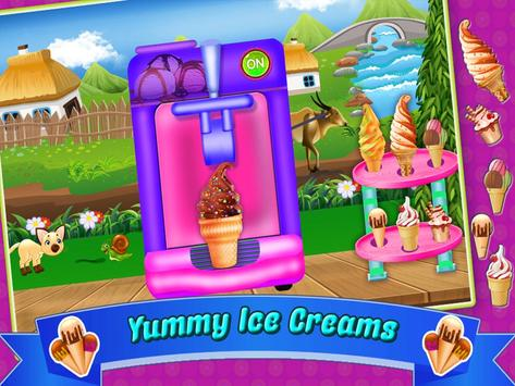 Ice  cream  recipes  chef apk screenshot