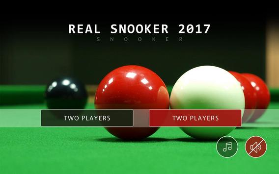 Real Snooker 2017 Affiche