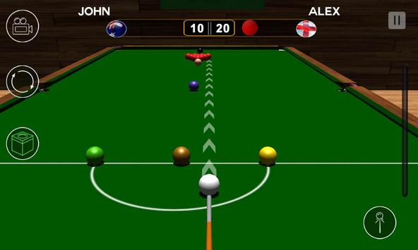 Real Snooker 2017 screenshot 1