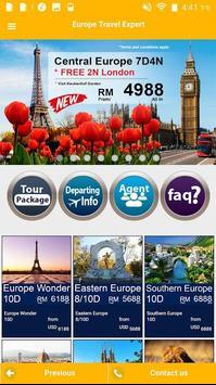 Europe Travel Expert apk screenshot