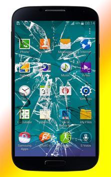 Broken Screen Scare Crack Fake apk screenshot