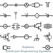 Explain Electrical Engineering Symbols icon