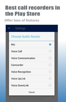 Best Call Recorder Automatic apk screenshot
