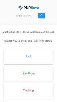 PNRSeva - Train PNR Status poster