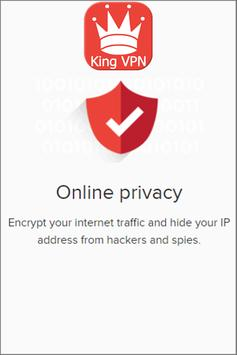 King VPN - Unblock Apps 2017 apk screenshot