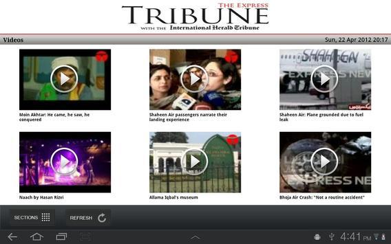 The Express Tribune News screenshot 3