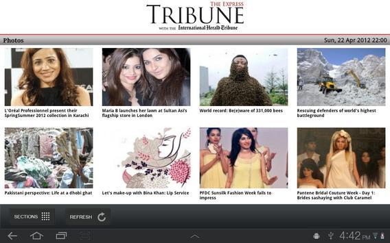 The Express Tribune News apk screenshot