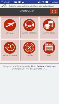 Air Freight Rates screenshot 1