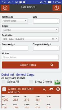 Air Freight Rates screenshot 2