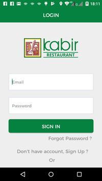Kabir Restaurant screenshot 1