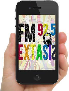 FM Extasis 92.5 poster