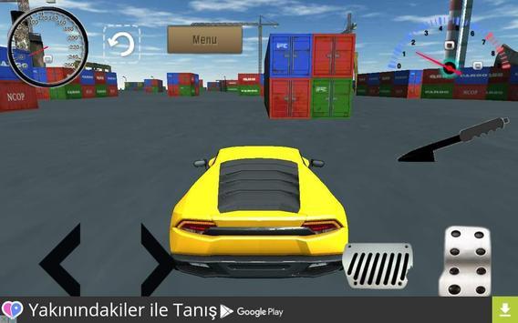 3D Sport Car Simulator 2016 poster