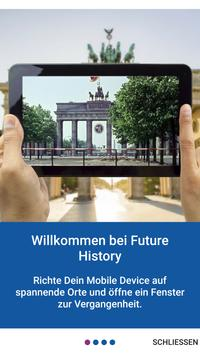 Future History - guided and self-guided tours poster